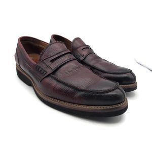 Mercanti Fiorentini Mens Penny Loafers Burnished